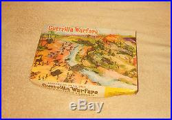 Vintage Marx Guerrilla Warfare Miniature Playset withBox 1960's AS FOUND