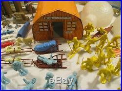 Vintage Marx IGY Arctic Satellite Base Play Set 1950s Scarce