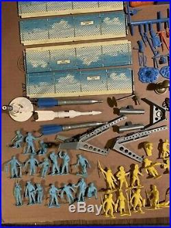 Vintage Marx, Late 1950's IGY ARCTIC SATELLITE BASE, SERIES 1000, PLAYSET