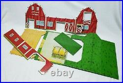 Vintage Marx Lazy-Day Farm Set Playset In The Original Box Wow