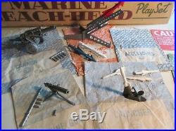 Vintage Marx Marine Beach Head play set #4732, Series 2000