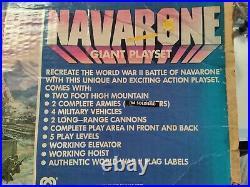 Vintage Marx Mego WWII Battle Of Navarone Giant Playset 08058 with extras