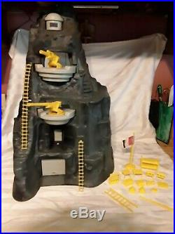 Vintage Marx Navarone Giant Battleground Playset Mountain Parts. Not Complete