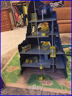 Vintage Marx Navarone Playset with Comic Book Play Mat Instructions Guns Accessory