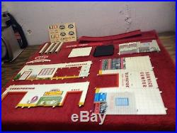 Vintage Marx Old Toy Store Stock Service Station In Box Series 500 Model #3471