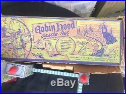 Vintage Marx Original 1950's 60mm Robin Hood Playset #4719