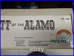Vintage Marx Playset Walt Disney Davy Crockett At The Alamo King Frontier