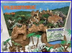 Vintage Marx Prehistoric Dinosaurs play set Looks To Be Nearly Complete