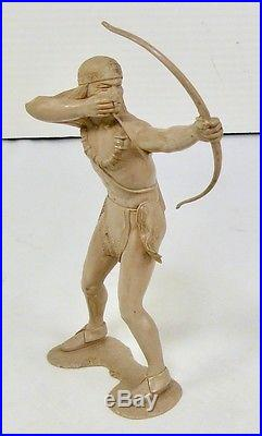 Vintage Marx Prototype 6 Inch Indian Warrior Figure Obo