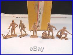 Vintage Marx Prototype Gas Service Station Attendants 45mm
