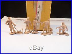 Vintage Marx Prototype Gas Service Station Attendants 45mm