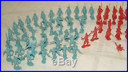 Vintage Marx Revolutionary War Plastic Soldiers British & Colonials Lot