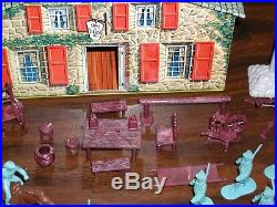 Vintage Marx Revolutionary War Playset AWI very nice near complete colonial