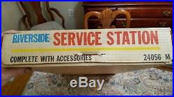 Vintage Marx Riverside Service Station UNOPENED BOX Great Find 24056