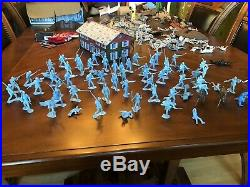 Vintage Marx Sears Battle Of The Blue And Gray Play Set