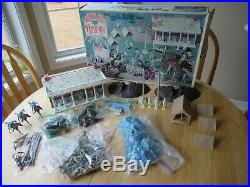 Vintage Marx Sears Heritage Blue and the Gray Set Original Box, Packaging, NICE