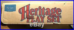 Vintage Marx Sears Heritage Blue and the Grey Playset In Original Box