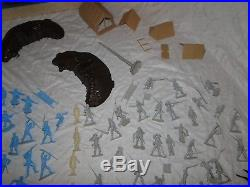 Vintage Marx Sears Heritage Play Set The Blue And The Gray Orig Box 89 Pcs