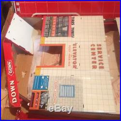 Vintage Marx Service Station Old Toy Store Stock Mib Never Assembled Model 1000