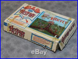 Vintage Marx Sons of Liberty Heritage Revolutionary War Play Set In Box