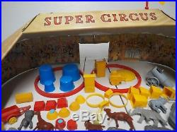 Vintage Marx Super Circus Play Set