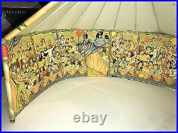 Vintage Marx Super Circus Play Set Tin Litho with Lots of Figures
