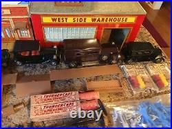 Vintage Marx The Untouchables Playset with Facsimile Box