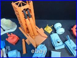 Vintage Marx Tom Corbit Martian Landing Rex Mars Space Play Set