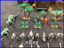 Vintage Marx Toys Prehistoric Playset # 3398 In Box 1971