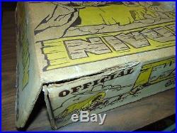 Vintage Marx Wagon Train with box #4888/Series #5000