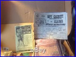 Vintage Marx Walt Disney Davy Crockett playset