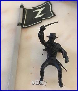 Vintage Marx Walt Disney's Zorro Play Set Series 500