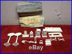 Vintage Marx Wards Service Station Playset Sold By Montgomery Wards Catalog Nmb