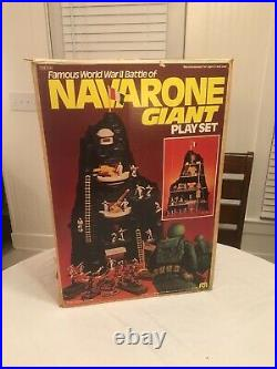 Vintage Mego Marx Navarone Playset 1980