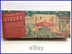 Vintage Metal Marx Toys The Big Top Circus Playset
