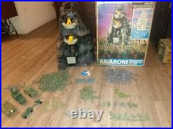 Vintage Mt. Navarone Army Playsets By Marx Toy Company