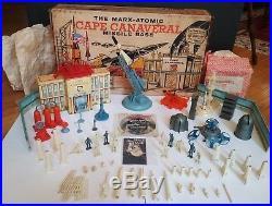 Vintage Original 1950's Marx Atomic Cape Canaveral Missle Base Playset