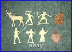 Vintage Original MARX Robin Hood Castle Playset With Figures & Accessories