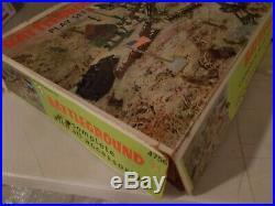 Vintage Original Marx Battleground Playset With Box