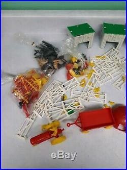 Vintage Play set Superior Toy Farm Mechanical Blue Ribbon Tin Litho Marx