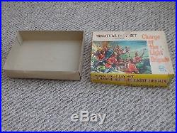 Vintage Rare Marx Miniature Charge Of The Light Brigade Playset 300+ Pieces