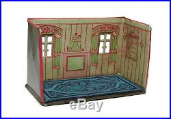 Vintage Retro Louis Marx Newlyweds Dining Room Tin Litho Playset From The 1920s