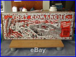 Vintage T Cohn Superior Fort Comanche Playset Marx Mint MUST SEE