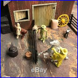 Vintage Western Town Diorama/Playset, Marx, Ideal, Auburn, MPC, REL, C & B