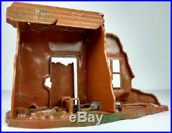 Vintage and Rare Marx Exploding House WW2 Europe Army Combat The Best