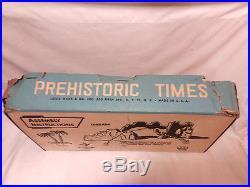 Vintage original 1963 Marx Prehistoric Times playset #3398 BOX ONLY dinosaur