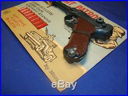 Vtg MARX Desert Patrol Luger CARDED WWII ROMMEL German Playset 1960's ARMY TOY