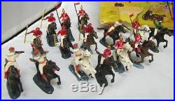 Vtg Marx Charge Of The Light Brigade MINIATURE Play SET189 Pcs + 27 Pcs Orig BOX