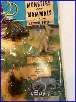 Vtg Marx Magic Marxie Toy Prehistoric Monsters & Mammals Dinosaur Set, UNUSED