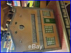 Vtg Marx Playset Freight Trucking Terminal Station Truck Dock Toy Accessory